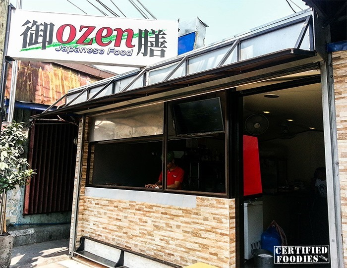 OZEN Japanese Food - hole-in-the-wall food haven in Malabon City