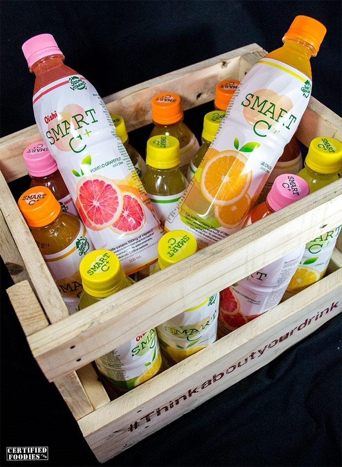 Oishi Smart C  contains 500mg of Vitamin C
