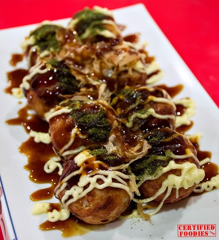 Our favorite Takoyaki from OZEN Japanese food