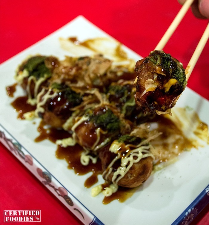 The BEST Takoyaki we've ever had are from OZEN Japanese Food