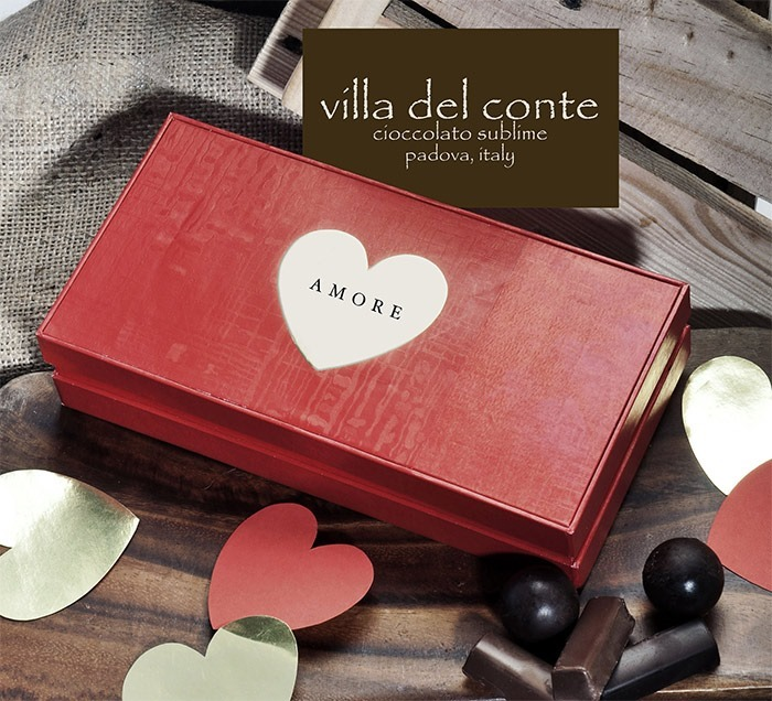 Villa del Conte - Amore - box of chocolates for Valentine's Day