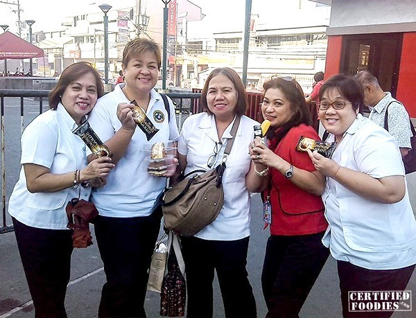 Magnum Gold for Navotas Health officers