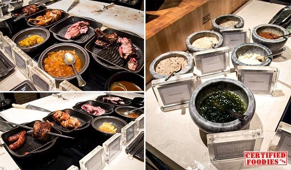 Churrasco or Brazilian Atelier at Spiral's buffet