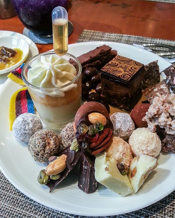 Desserts at Spiral's Buffet!