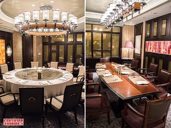Private dining rooms at Spiral in Sofitel