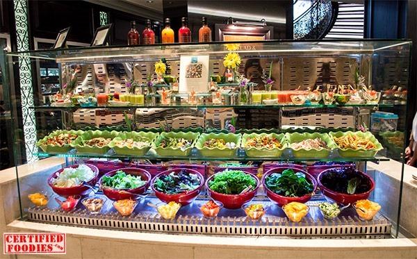 Spiral's Salad station
