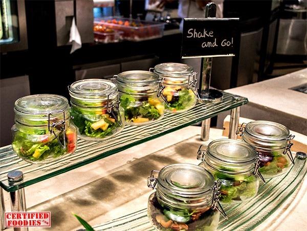Spiral's Shake and Go salads