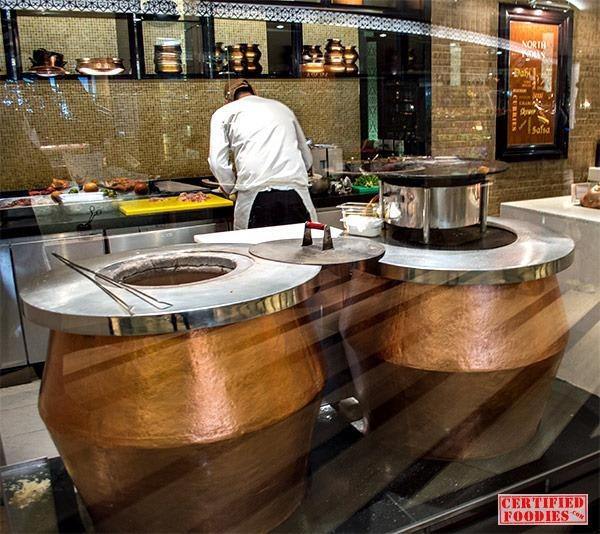 Tandoori ovens at Spiral