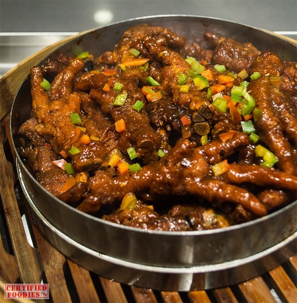 Chicken feet at Vikings SM Megamall