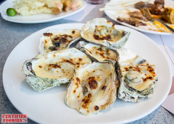 Must-try oysters from Vikings SM Megamall
