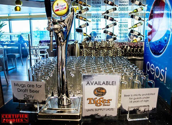 Unlimited draft beer at Vikings SM Megamall