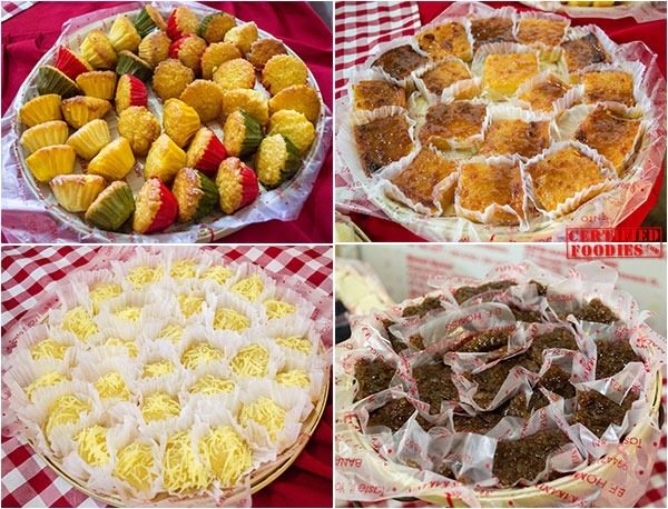 Macaroons, pitsi-pitsi, kamoteng kahoy from Dolor's Kakanin
