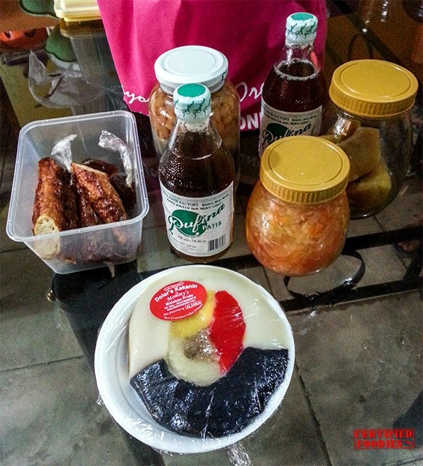 Malabon food tour goodies