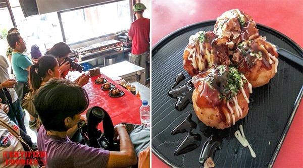 Ozen's Takoyaki balls in Malabon