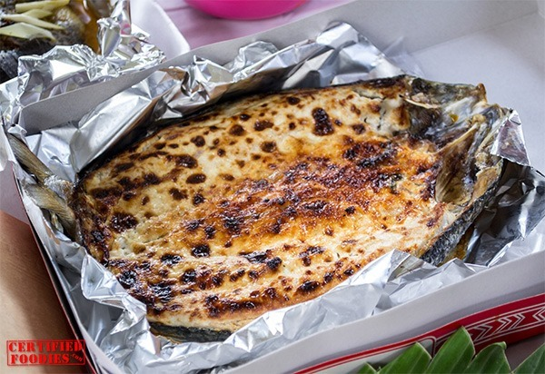Red Palmas' Baked Bangus is to die for!!