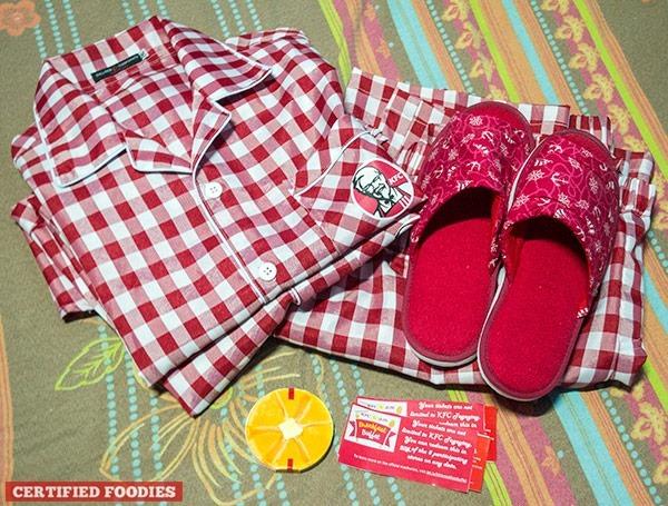 Our KFC custom pajamas!!