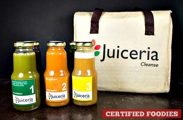 Juiceria Cleanse 3-day Reboot juice cleansing program