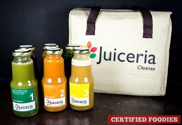 Juiceria Cleanse Reboot program