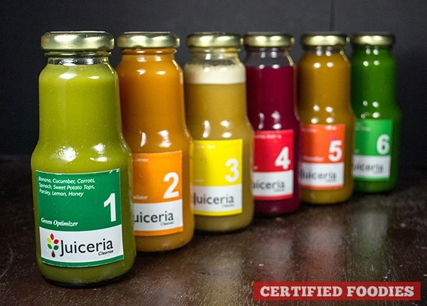 Juiceria Cleanse - detox your way to a healthier you