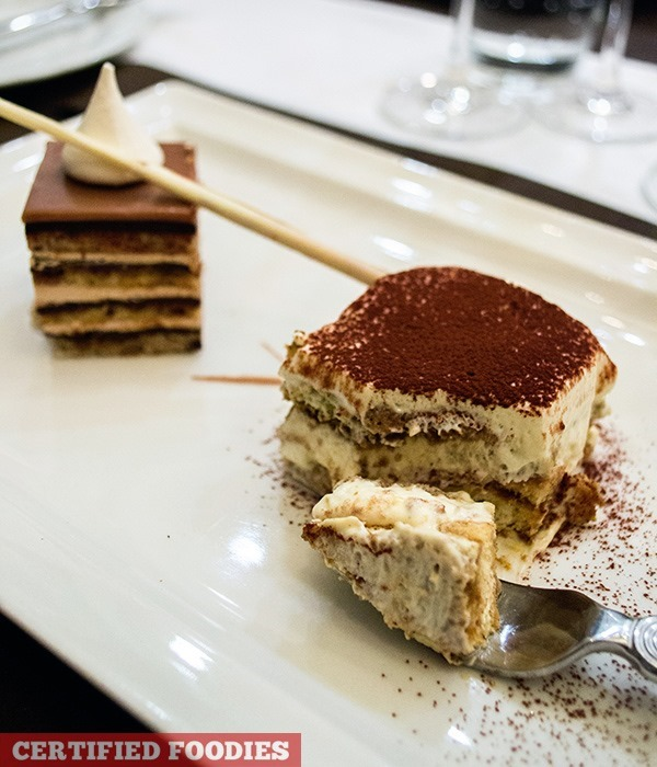 Tiramisu from Finestra at Solaire Resort and Casino