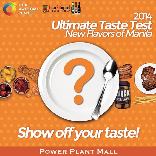 2014 Ultimate Taste Test in Rockwell Tent at the Power Plant Mall