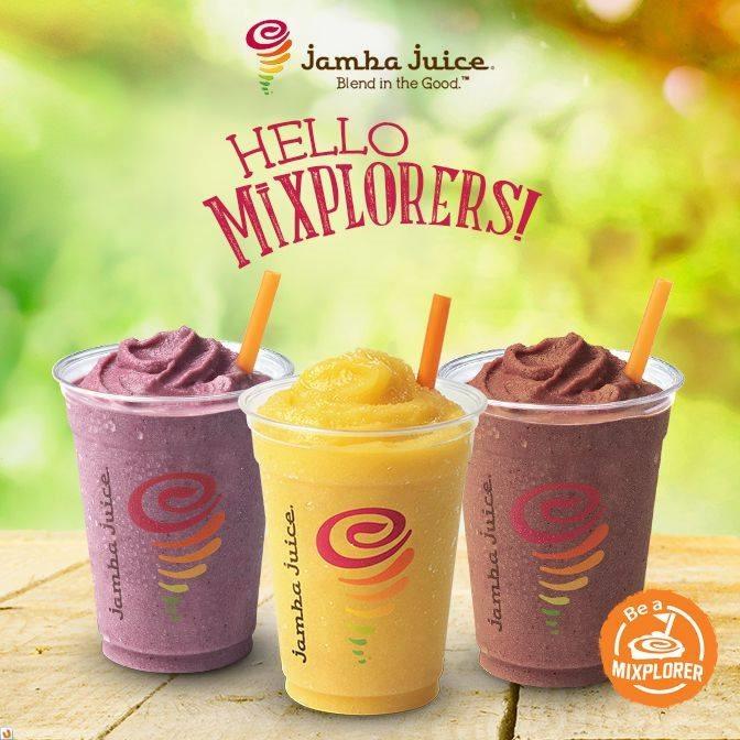 Jamba Juice Mixplorers