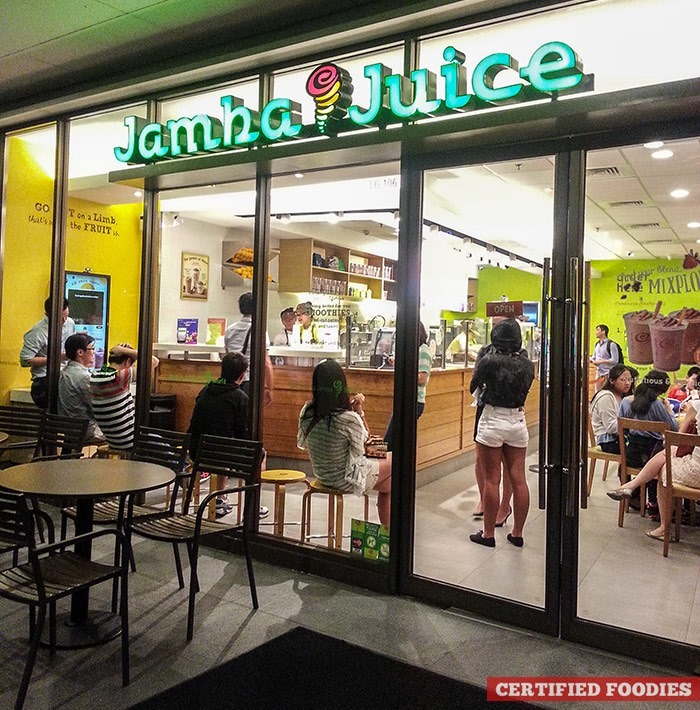 Jamba Juice branch in Bonifacio High Street