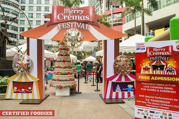 Merry Cremas Festival 2014 at Eastwood Mall