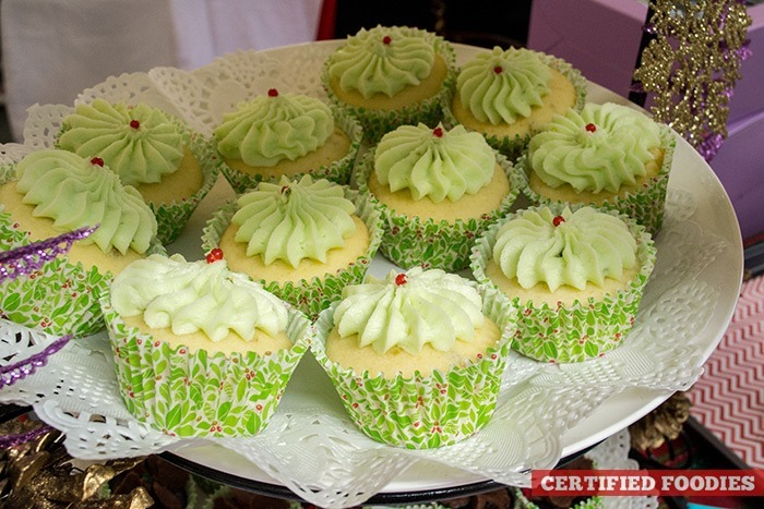 Mountain Dew Cupcakes from Cupcake Mistress with Alaska Crema
