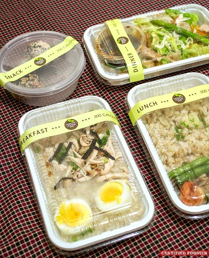 Calorie-counted program from Healthy Foodie Manila