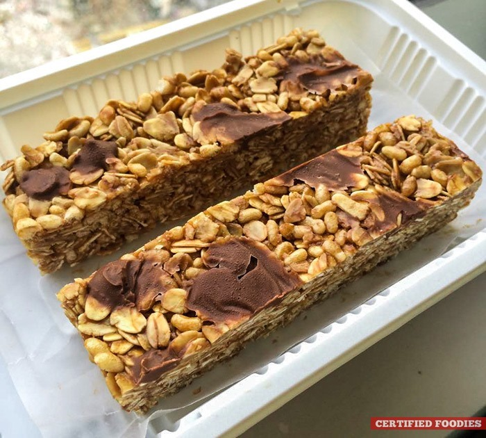 High-protein granola bars from Healthy Foodie Manila