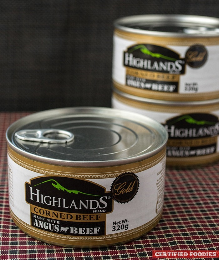 Highlands Gold Corned Beef - Premium Taste of Steak and Angus Beef in a Can