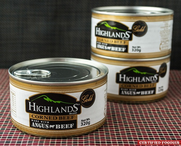 Highlands Gold Corned Beef - premium taste of Angus beef in a can!