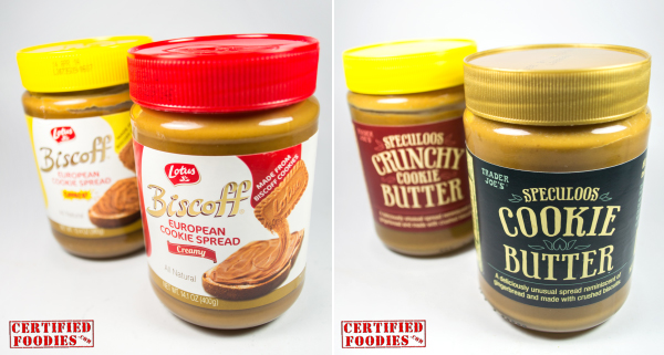 Lotus Biscoff vs Trader Joe's Speculoos Cookie Butter