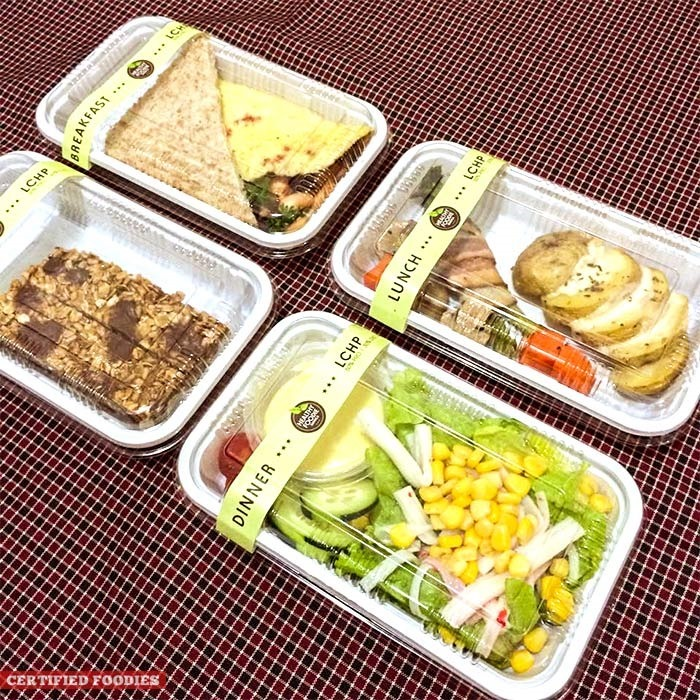 Low Carb, High Protein diet menu (LCHP) from Healthy Foodie Manila