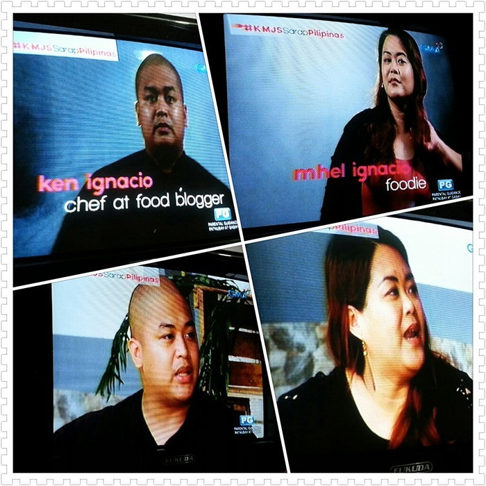 Our first TV guesting - Battle of the Best Pansit Malabon on Kapuso Mo, Jessica Soho
