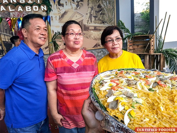 Tito Roy's, Nanay's and Milflores in a friendly competition - Battle of the Best Pansit Malabon