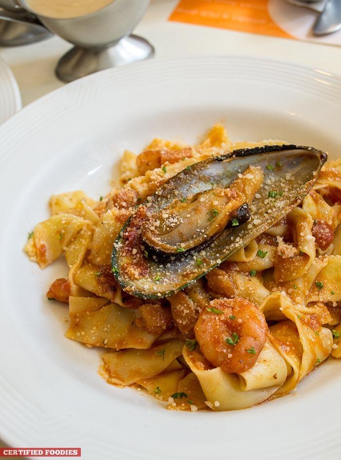 Pancake House's Seafood Gambero
