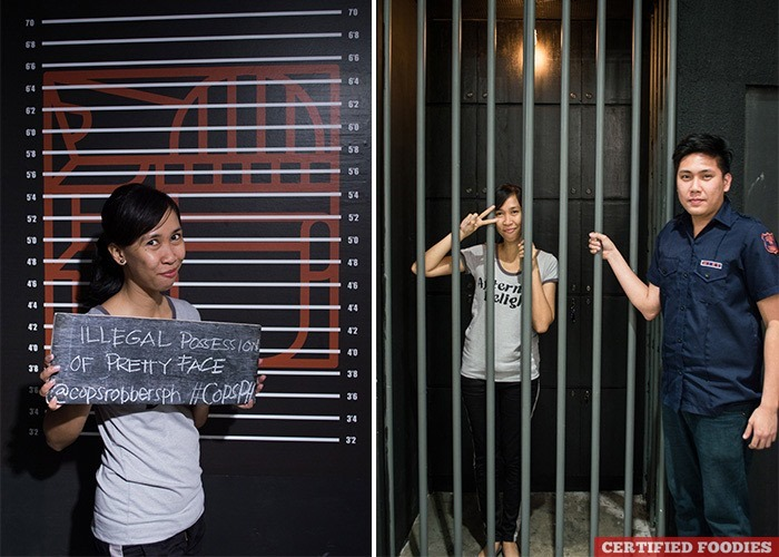 Mugshot Background and Jail at Cops and Robbers