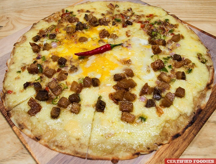 Sisig Pizza from Cops and Robbers