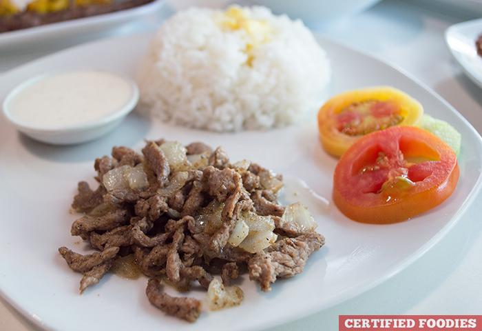 Beef Shawarma - Dweet Gastropub
