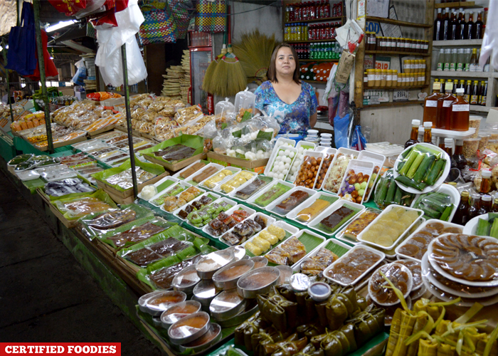 Delicacies Section at Farmers Market Araneta Center