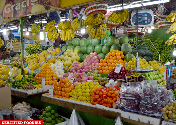 Fresh Fruit Section at Farmers Market Araneta Center