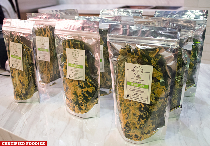 Kale Chips from Spruce Cold Press Juices at Hole in the Wall Century City Mall