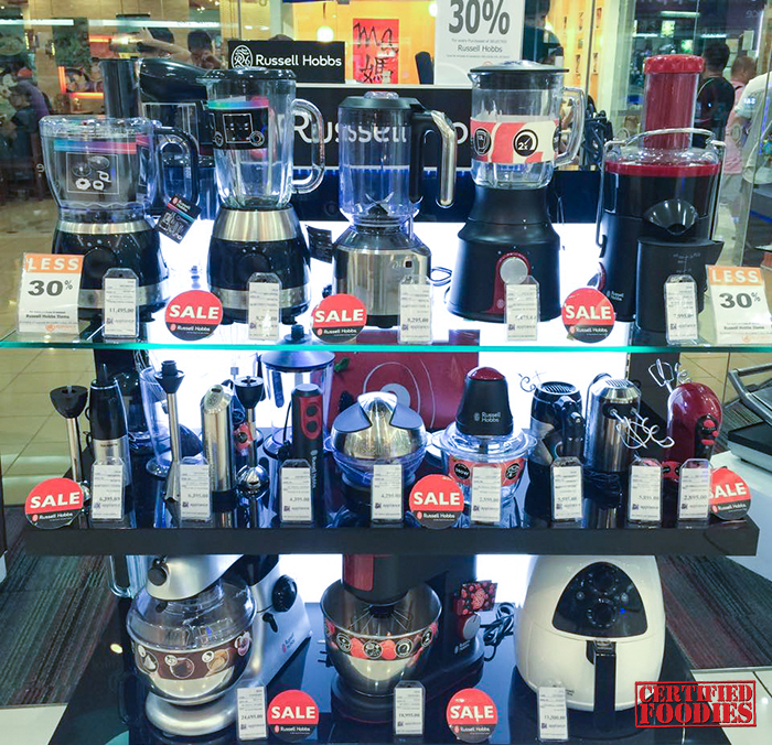 Russell Hobbs Display at SM Appliance Center