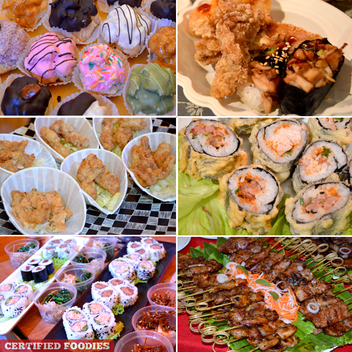 Asian Cuisine Dishes at Gourmet Strip Shangri-La Plaza Mandaluyong City