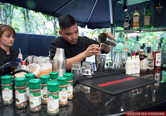 Bartending and Open Bar at McCormick Flavor Nation Festival Press Launch