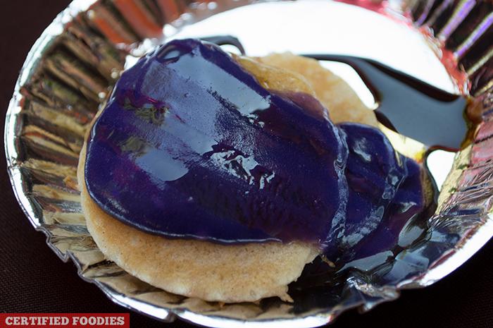 Cinnamon Pancakes with Ube Ganache from McCormick Flavor Nation Festival in Bonifacio High Street