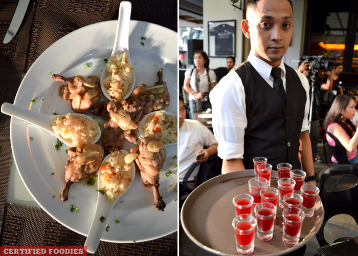 Food and Drinks Prepared by Chef Xavier Btesh for McCormick Flavor Nation Festival