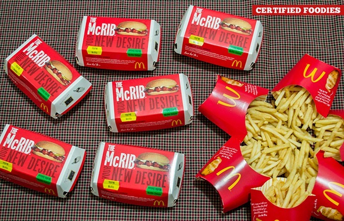 It's a McRib Party!!